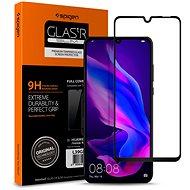 Spigen Glass FC HD Black Huawei P30 Lite/P30 Lite NEW EDITION - Képernyővédő