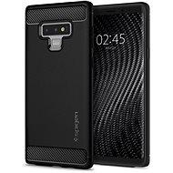 Spigen Rugged Armor Black Samsung Galaxy Note9 - Mobiltelefon hátlap
