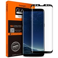 Spigen GLAS.tR FC Black Samsung Galaxy S8 - Képernyővédő