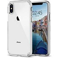 Spigen Ultra Hybrid Crystal Clear iPhone XS/X - Mobiltelefon hátlap