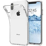 Spigen Liquid iPhone XS Max kristálytiszta - Mobiltelefon hátlap