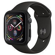 Spigen Thin Fit Black Apple Watch 4 44mm - Szilikon tok