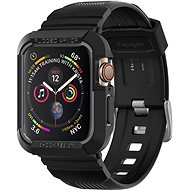Spigen Rugged Armor Pro Black Apple Watch 6/SE/5/4 44mm - Védőtok