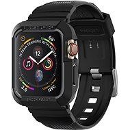 Spigen Rugged Armor Pro Apple Watch 4 44mm fekete - Szilikon tok