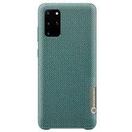 Mobiltelefon hátlap Samsung környezetbarát hátlap tok újrahasznosított anyagból Galaxy S20+ készülékhez, zöld - Kryt na mobil