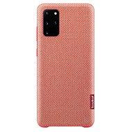 Mobiltelefon hátlap Samsung környezetbarát hátlap tok újrahasznosított anyagból Galaxy S20+ készülékhez, piros - Kryt na mobil