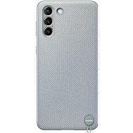 Mobiltelefon hátlap Samsung környezetbarát hátlap újrahasznosított anyagból Galaxy S21+ készülékre mentaszürke - Kryt na mobil