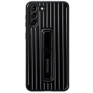 Samsung Protective Standing tok a Galaxy S21+ készülékhez Black - Mobiltelefon hátlap