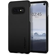 Spigen Thin Fit Samsung Galaxy S10e, fekete - Mobiltelefon hátlap