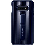 Samsung Galaxy S10e Protective Standing Cover, kék - Mobiltelefon hátlap