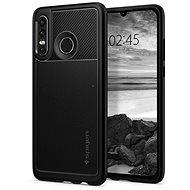 Spigen Rugged Armor Huawei P30 Lite/P30 Lite NEW EDITION fekete - Mobiltelefon hátlap