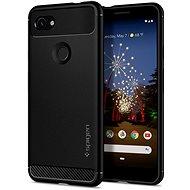 Spigen Rugged Armor Google Pixel 3a, fekete - Mobiltelefon hátlap