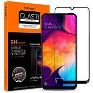 Spigen Glass FC HD Black Samsung Galaxy A50 - Képernyővédő
