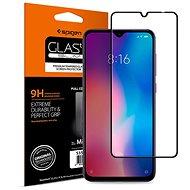 Spigen Glass FC HD Black Xiaomi Mi 9 - Képernyővédő