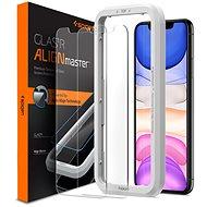 Spigen Align Glas.tR 2 pack iPhone 11/XR - Képernyővédő