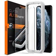 Spigen Align Glas.tR 2 Pack iPhone 11 Pro/XS/X készülékekhez - Képernyővédő