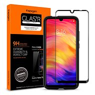Spigen Glass FC Black Xiaomi Redmi Note 7 - Képernyővédő
