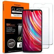 Spigen Glas.tR SLIM 2 pack  Xiaomi Redmi Note 8 Pro - Képernyővédő
