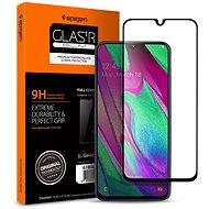 Spigen Glass FC Black Samsung Galaxy A40 - Képernyővédő