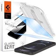 Spigen Glass tR EZ Fit AntiBlue 2 csomag iPhone 12 Pro Max - Képernyővédő
