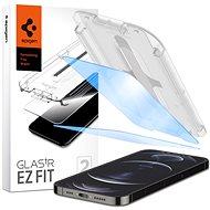 Spigen Glas tR EZ Fit AntiBlue 2 Pack iPhone 12/iPhone 12 Pro - Képernyővédő