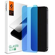 Spigen Glas tR AntiBlue HD 1 csomag iPhone 12 / iPhone 12 Pro - Képernyővédő