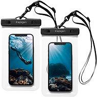 Spigen A601 vízálló telefon tok 2 csomag, átlátszó - Mobiltelefon tok