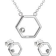 EVOLUTION GROUP 39166.1 Swarovski kristályokkal  (Ag 925/1000, 2,1 g) - Ajándékcsomag