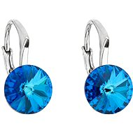 EVOLUTION GROUP 31229.5 bermuda blue Swarovski® kristályokkal díszítve (Ag 925/1000, 1,6 g) - Fülbevaló