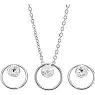 JSB Bijoux Készlet Rivoli karika Swarovski® kristály kövekkel 61001423cr - Ékszer ajándékcsomag