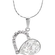 JSB Bijoux szív Swarovski kristályokkal 61300857cr - Nyaklánc