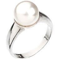 Swarovski gyűrű fehér gyönggyel 35022.1 (925/1000, 5.1g) méret 54 - Gyűrű