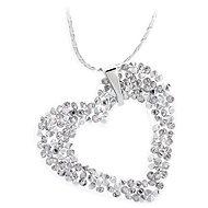 JSB Bijoux nyaklánc Heart Rock Swarovski® Crystal Stones - Nyaklánc