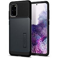 Mobiltelefon hátlap Spigen Slim Armor Metal Slate Samsung Galaxy S20+ - Kryt na mobil