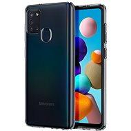 Spigen Liquid Crystal Clear Samsung Galaxy A21s - Mobiltelefon hátlap