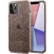Spigen Liquid Crystal Glitter Rose iPhone 12/iPhone 12 Pro - Mobiltelefon hátlap