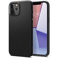 Spigen Liquid Air Black iPhone 12 Pro Max - Mobiltelefon hátlap