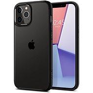 Spigen Crystal Hybrid Black iPhone 12 Pro Max - Mobiltelefon hátlap