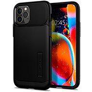 Spigen Slim Armor Black iPhone 12/iPhone 12 Pro - Mobiltelefon hátlap