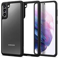 Mobiltelefon hátlap Spigen Ultra Hybrid Fekete Samsung Galaxy S21 - Kryt na mobil