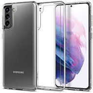 Mobiltelefon hátlap Spigen Ultra Hybrid Clear Samsung Galaxy S21 - Kryt na mobil