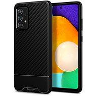 Mobiltelefon hátlap Spigen Core Armor Black Samsung Galaxy A52/A52 5G - Kryt na mobil