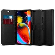Spigen Wallet S Black iPhone 11 Pro Max - Mobiltelefon hátlap