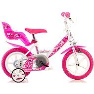 Dino Bikes 12 rózsaszín - Gyerek kerékpár