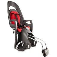 Hamax Caress sötét szürke / piros - Kerékpár gyerekülés