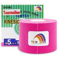 Temtex Tourmaline pink 5 cm-es kineziológiai szalag - Kineziológiai szalag