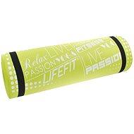 Lifefit jóga matrac exkluzív és zöld - Fitnesz szőnyeg