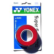 Yonex Super Grap, fedőgrip, piros - Tollaslabda grip