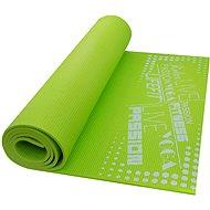 Lifefit Slimfit gimnasztikai szőnyeg, könnyű, zöld - Alátét/szőnyeg