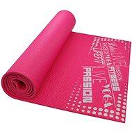 Lifefit Slimfit gimnasztikai szőnyeg, könnyű, rózsaszín - Fitnesz szőnyeg